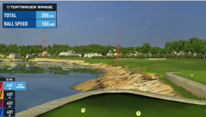 TopTracer Virtual Golf Game