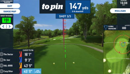 TopTracer Closest to the pin game