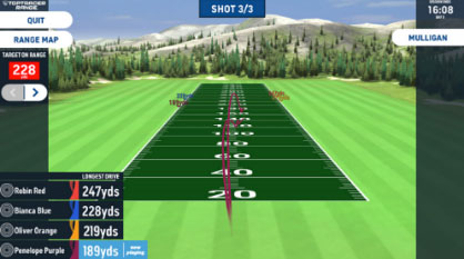 TopTracer Longest Drive Game